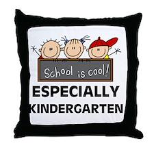 Kindergarten is Cool Throw Pillow