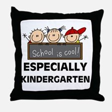 Kindergarten is Cool Throw Pillow