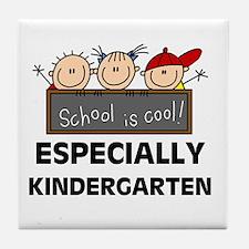 Kindergarten is Cool Tile Coaster