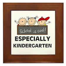 Kindergarten is Cool Framed Tile