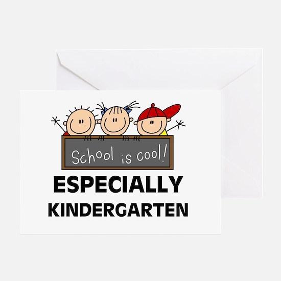 Kindergarten is Cool Greeting Card