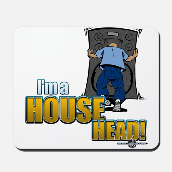Old School House Mousepad