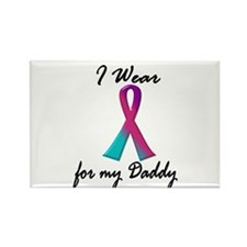 Thyroid Ribbon 1 (Daddy) Rectangle Magnet