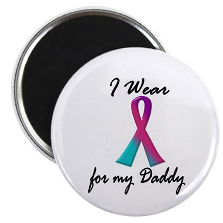 """Thyroid Ribbon 1 (Daddy) 2.25"""" Magnet (10 pack)"""