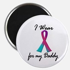 "Thyroid Ribbon 1 (Daddy) 2.25"" Magnet (10 pack)"