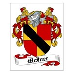 McIver Family Crest Small Poster
