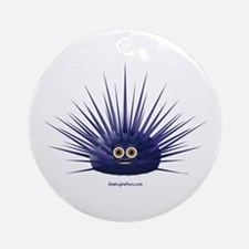 Purple Sea Urchin Ornament (Round)