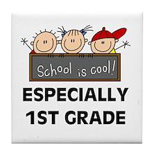1st Grade is Cool Tile Coaster