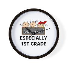 1st Grade is Cool Wall Clock