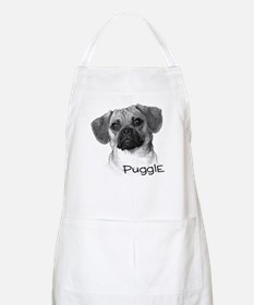 Perfect Puggle Portrait BBQ Apron