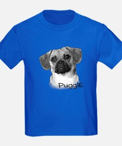 Perfect Puggle Portrait T