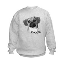 Perfect Puggle Portrait Sweatshirt