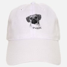 Perfect Puggle Portrait Baseball Baseball Cap
