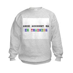 Insurance Account Manager In Training Sweatshirt