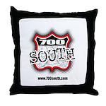700 South Throw Pillow