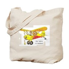 Fly With A Friend Tote Bag