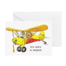 Fly With A Friend Greeting Cards (Pk of 10)