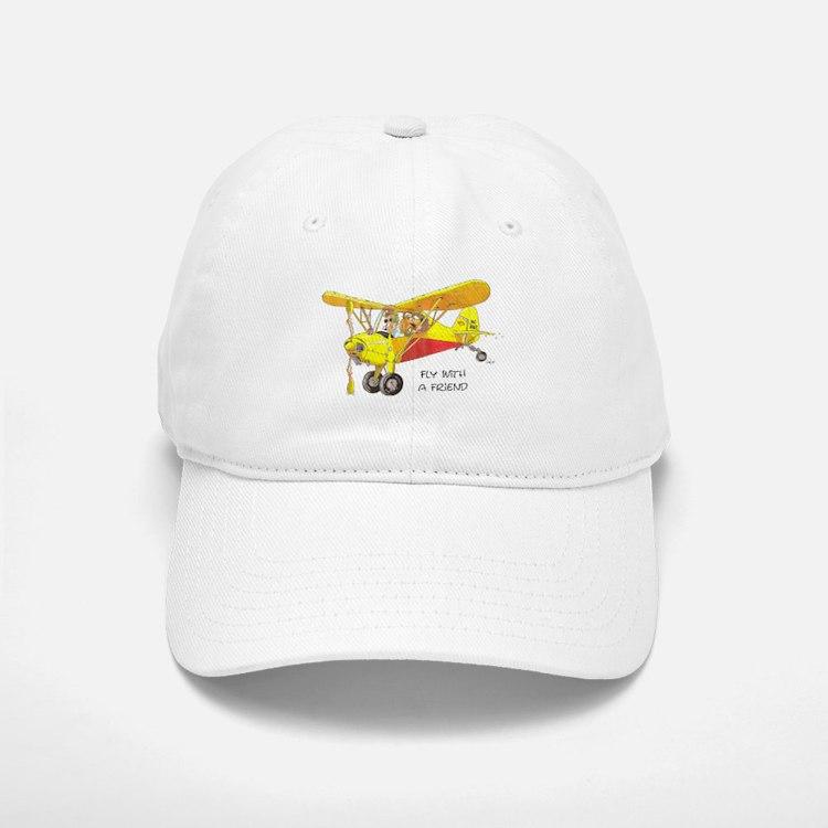 Fly With A Friend Baseball Baseball Cap