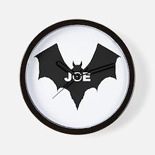 BLACK BAT JOE Wall Clock