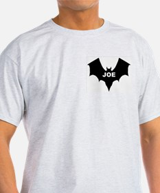BLACK BAT JOE Ash Grey T-Shirt