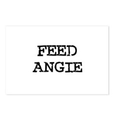 Feed Angie Postcards (Package of 8)
