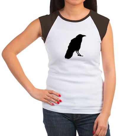 Crow Women's Cap Sleeve T-Shirt
