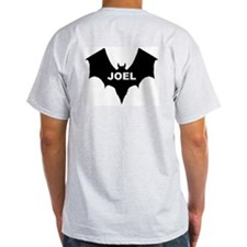 BLACK BAT JOEL Ash Grey T-Shirt