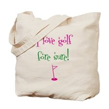 I love golf - Tote Bag
