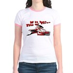 Tits Or Tires Jr. Ringer T-Shirt