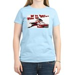 Tits Or Tires Women's Pink T-Shirt