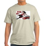 Tits Or Tires Ash Grey T-Shirt
