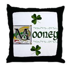 Mooney Celtic Dragon Throw Pillow