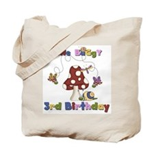 Gone Buggy 3rd Birthday Tote Bag