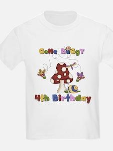 Gone Buggy 4th Birthday T-Shirt