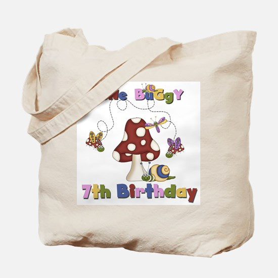 Gone Buggy 7th Birthday Tote Bag