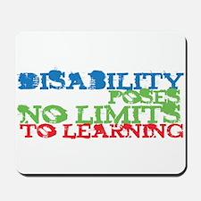 Disability No Limits Mousepad