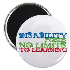 Disability No Limits Magnet