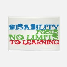Disability No Limits Rectangle Magnet