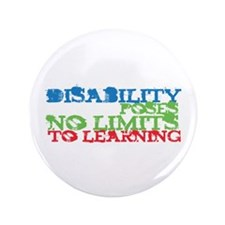 "Disability No Limits 3.5"" Button (100 pack)"