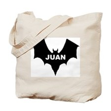 BLACK BAT JUAN Tote Bag