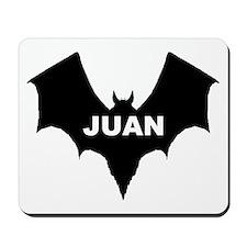 BLACK BAT JUAN Mousepad