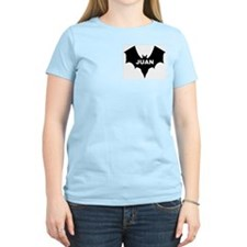 BLACK BAT JUAN Women's Pink T-Shirt