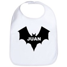 BLACK BAT JUAN Bib