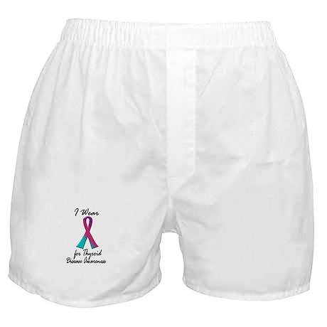 Thyroid Ribbon 1 (Awareness) Boxer Shorts