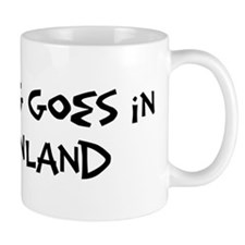 Greenland - Anything goes Mug