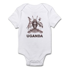 Vintage Uganda Infant Bodysuit