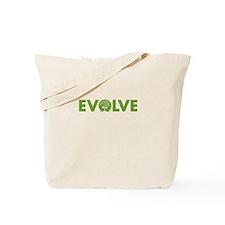 "Go Green ""Evolve"" Tote Bag"