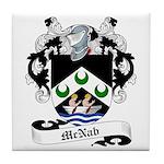 McNab Family Crest Tile Coaster