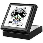 McNab Family Crest Keepsake Box
