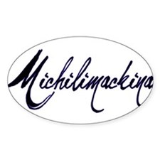 Michilimackinac Oval Decal